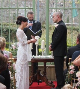 Emma and Alan married at Village at Lyons 13 April 2016